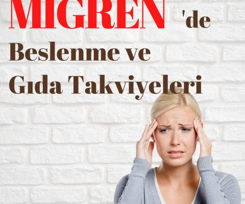 Migrende Beslenme ve Gıda Takviyeleri